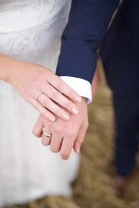 Brudepar - ringe